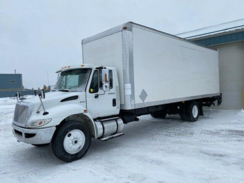 2012 International 4300 24' Van Body