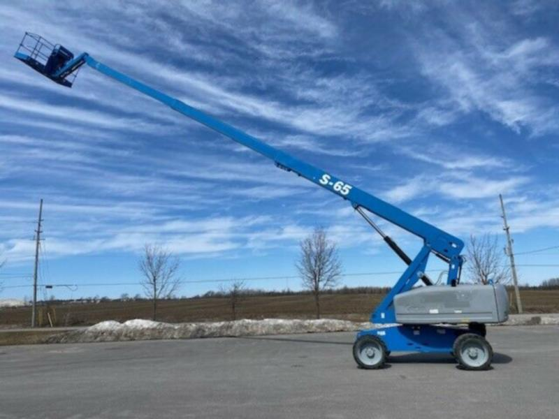 65' BOOM LIFT RENTAL  $2500 month