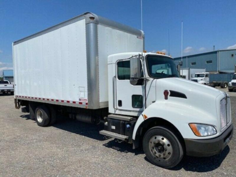 2016 KENWORTH T170 18' ALUMINUM BOX