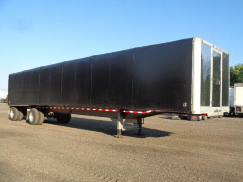 2019 EXTREME 48'FT ALL ALUMINUM FLAT BED WITH SLIDING CURTAIN