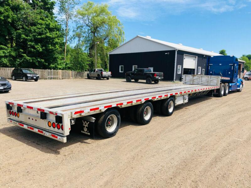 2015 WILSON 53'FT TRIDEM COMBO STEP DECK LOW PRO TRAILER