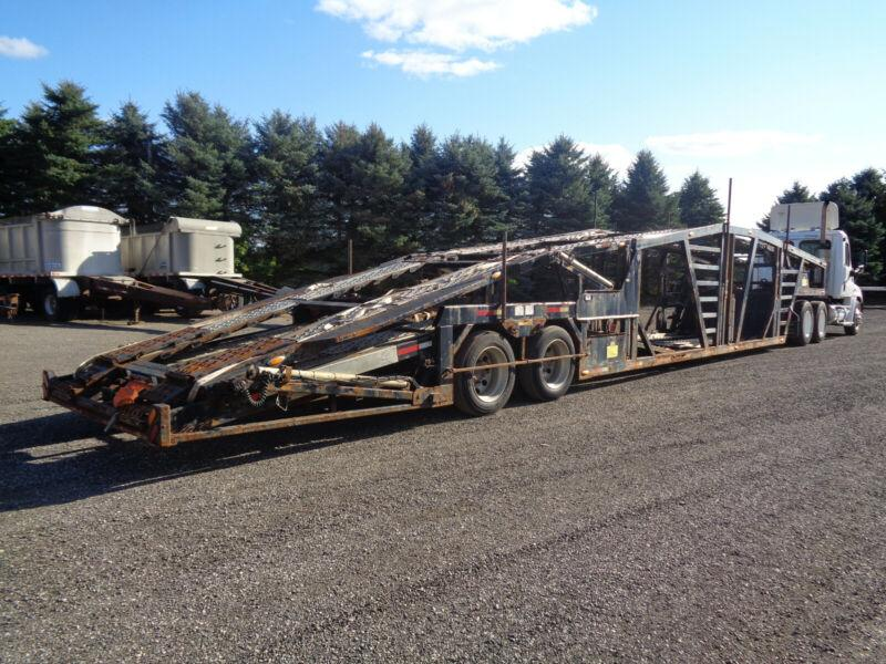 2016 WALLY-MO 53'FT 5 CAR HAULER TRAILER, OPEN FOR OFFERS