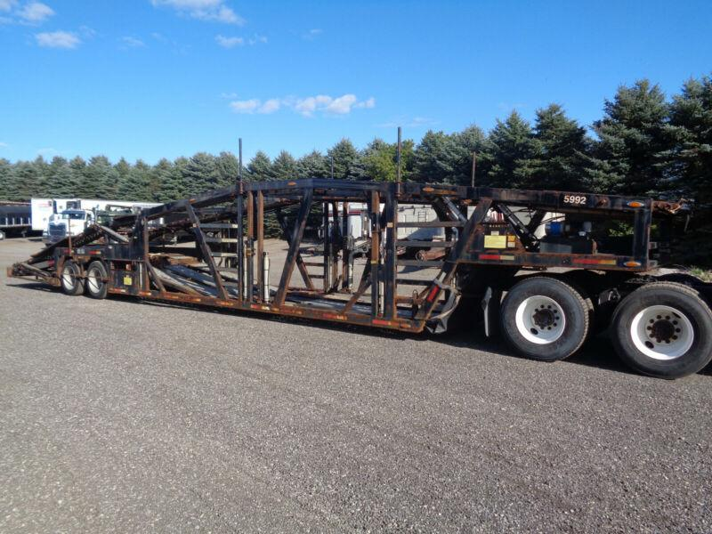 2016 WALLY-MO 53'FT 5 CAR HAULER TRAILER