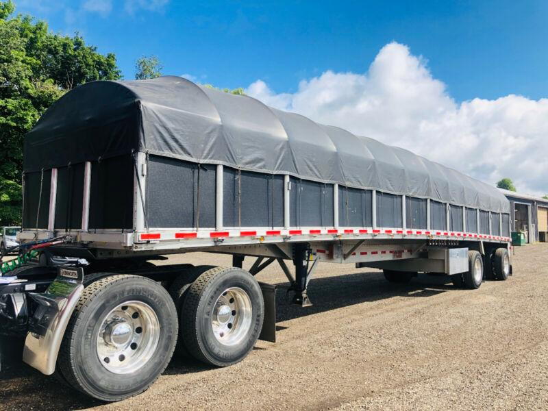 2016 REITNOUER MAX MISER 48'FT ALUMINUIM FLAT BED WITH RACK