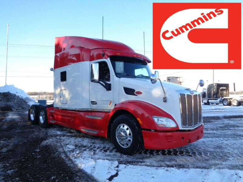 2015 PETERBILT 579, CUMMINS ENGINE, 13SPD MANUAL