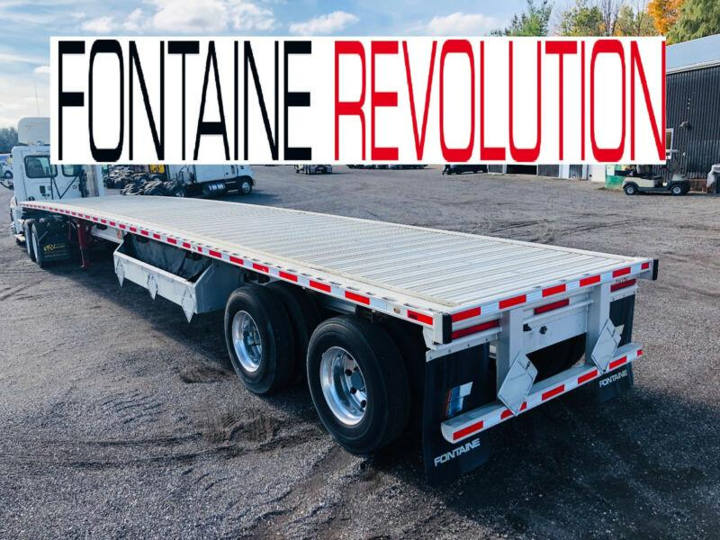 2014 FONTAINE REVOLUTION 48'FT ALUMINUIM FLAT BED TRAILER