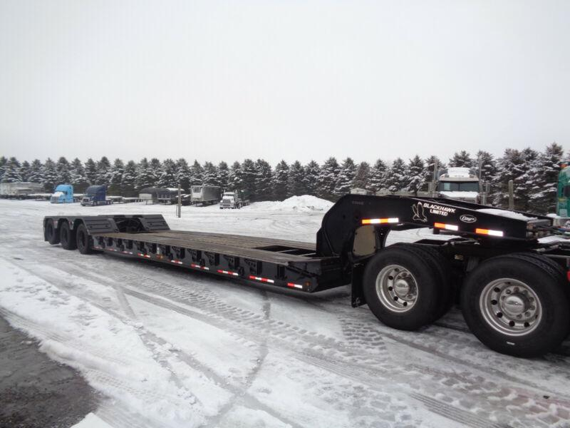 2012 ETNYRE 55 TON REMOVABLE GOOSE NECK FLOAT TRAILER