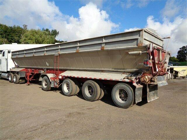 2012 ETNYRE 4 AXLE SPIF LIVE BOTTOM TRAILER. 2 IN STOCL