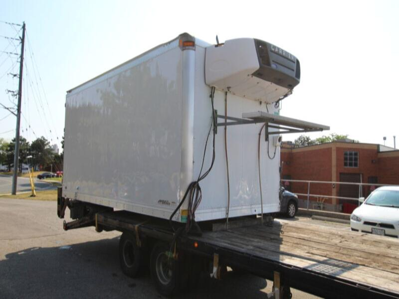 2012 Multivans 16 FT REEFER BODY W/ TGATE # UB3426 (BOX, REEFER
