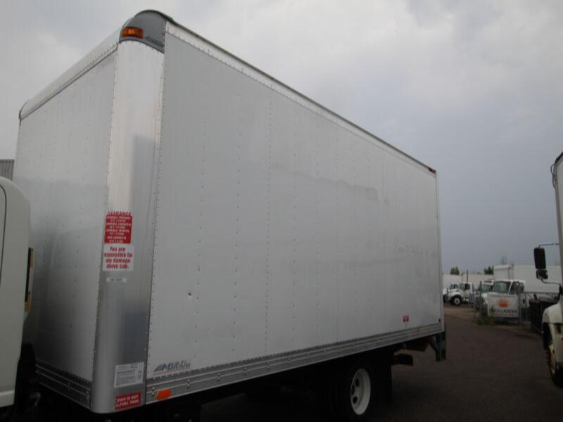 2017 Multivans 20 ft Dry Freight Body w/ 2500lb Alum Tgate (Box
