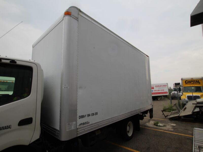 2012 Multivans 16 ft Dry Freight Body w/ 2500lb Steel Tgate