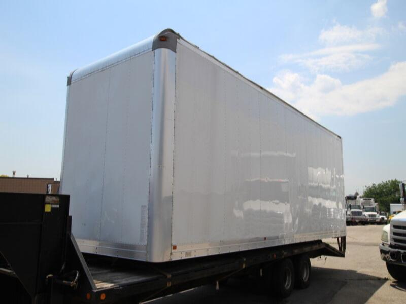 2011 Morgan 28 FT VAN BODY W/ TGATE  #UB1215 (BOX & GATE ONLY