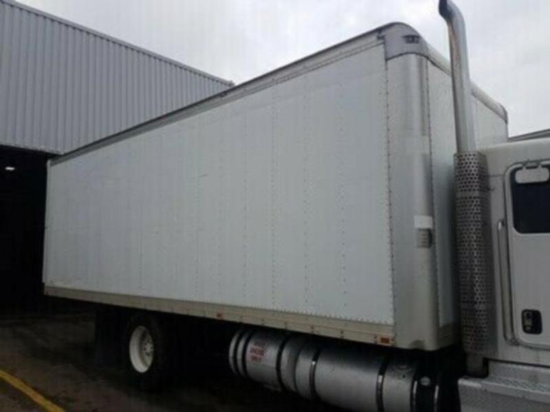 2005 Morgan 24 ft Dry Freight Van body