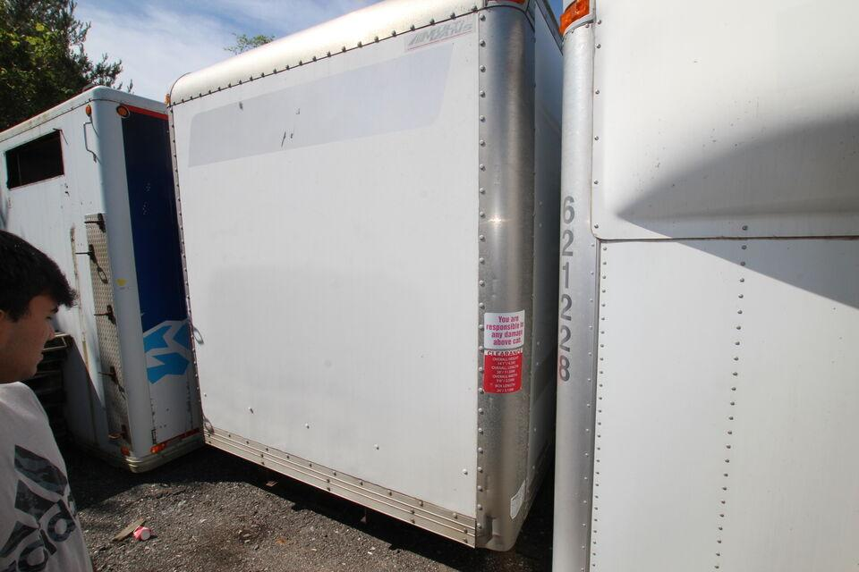 2015 Multivans 26ft dry # UB1156-1 ( BOX ONLY FOR SALE)  26ft dr