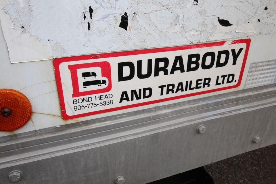 1998 Durabody 26FT DRY #UB1159 ( BOX & TGATE ONLY FOR SALE)  26f