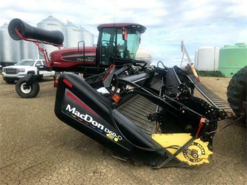 2011 MacDon M150 Windrower
