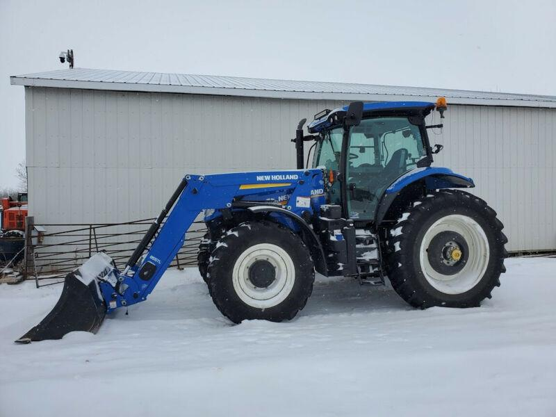 2018 New Holland T7.190 Tractor