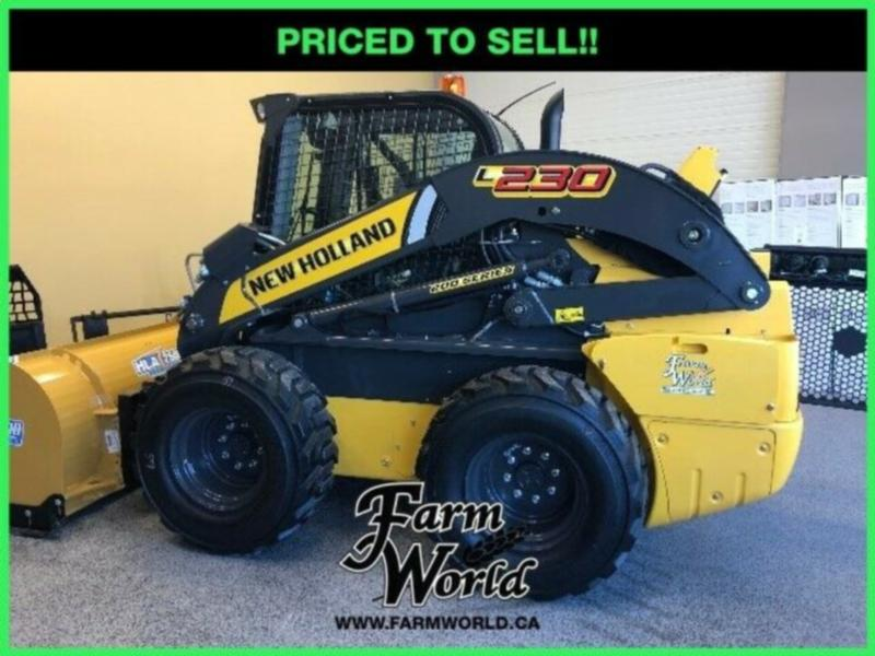 WHOLESALE CASH PRICING! - 2019 New Holland L230 Skid Steer