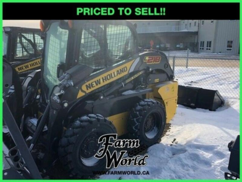 WHOLESALE CASH PRICING! - 2018 New Holland L218 Skid Steer