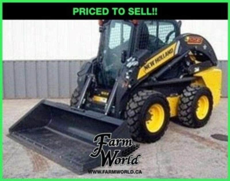 WHOLESALES CASH PRICING! - 2019 New Holland L223 Skid Steer