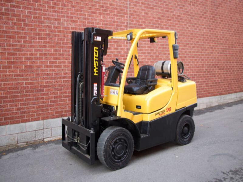 HYSTER H90FT LPG FORKLIFT 9000 lbs Capacity