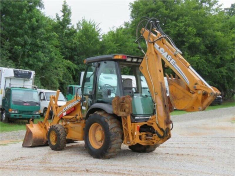 2007 CASE 580M II BACKHOE TRACTOR LOADER
