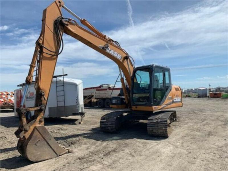 2008 CASE CX130B BACKHOE LOADER