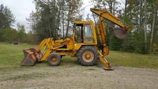 1983 Case Backhoe Construction King