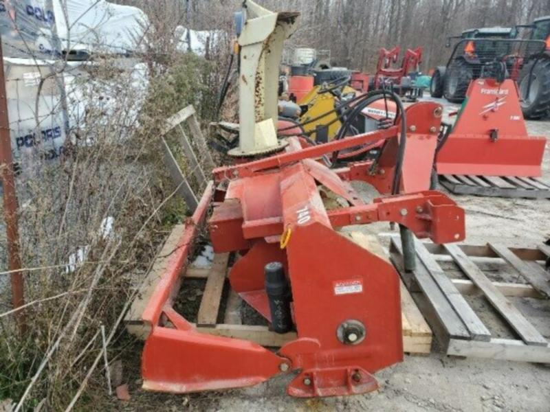 "USED 84"" SNOW BLOWER CONTRACTOR"
