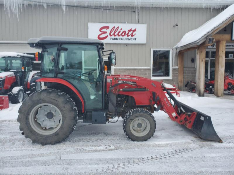 MASSEY 1754HL CAB TRACTOR HYDROSTATIC 630 HRS