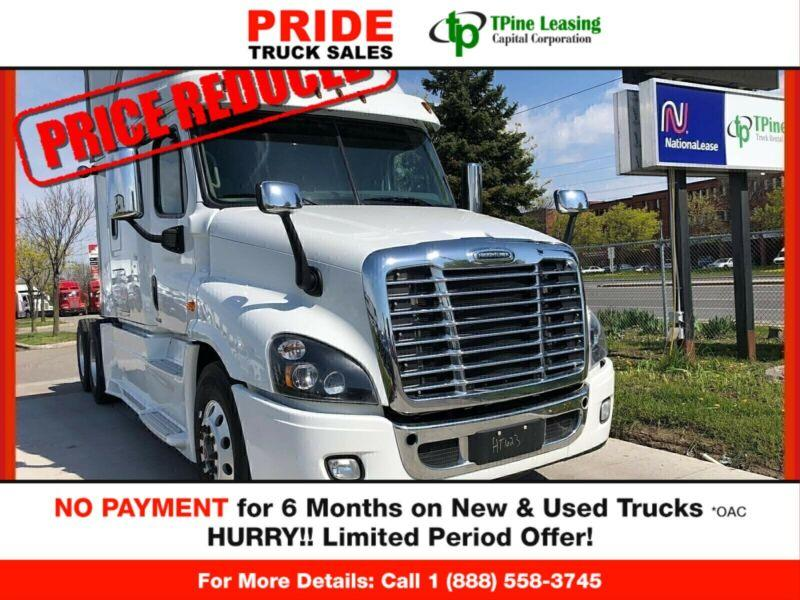 2017 Freightliner CASCADIA  FINANCING ON THE SPOT!