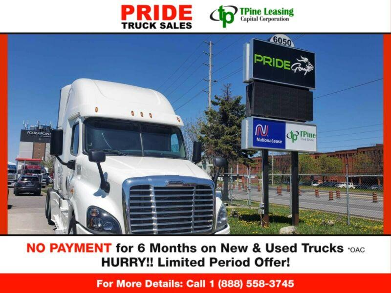 2016 Freightliner CASCADIA  FINANCING ON THE SPOT!