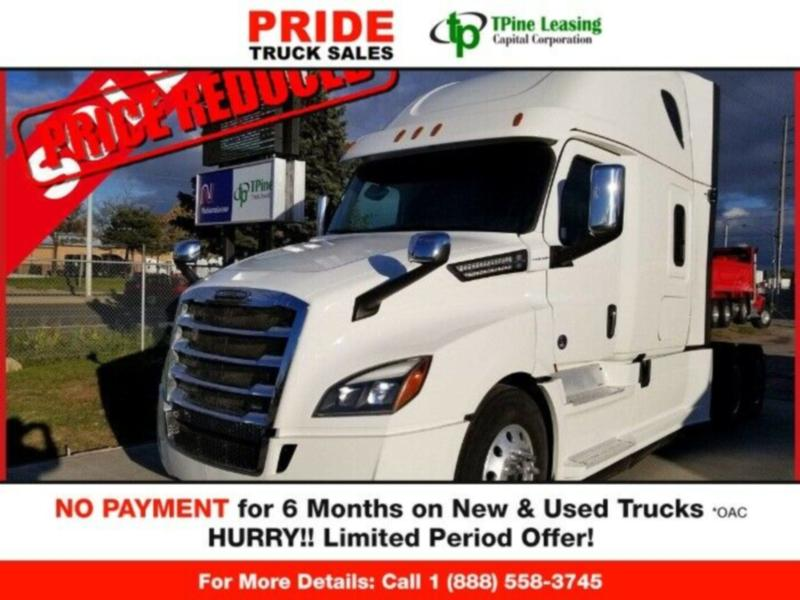 "2018 Freightliner CASCADIA  LOW MILEAGE. ""FINANCING ON THE SPOT!"
