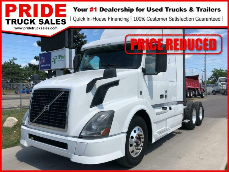 "2014 Volvo VNL 430 READY TO GO. ""FINANCING ON THE SPOT!"""