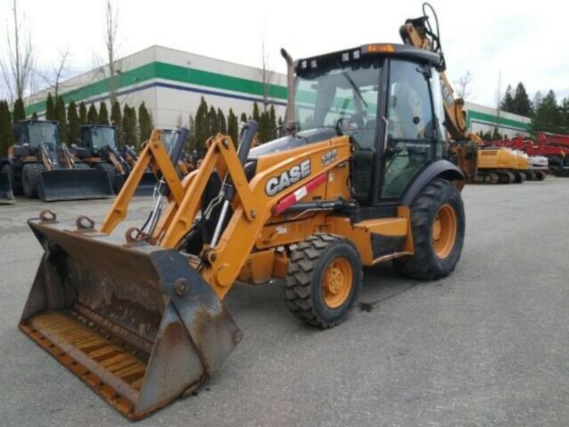 2013 Case 580SN 4 Backhoe