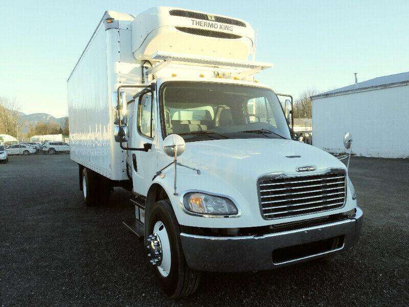 2014 Freightliner M2 S/A Reefer Truck Only 129,000 mi *VIDEO*