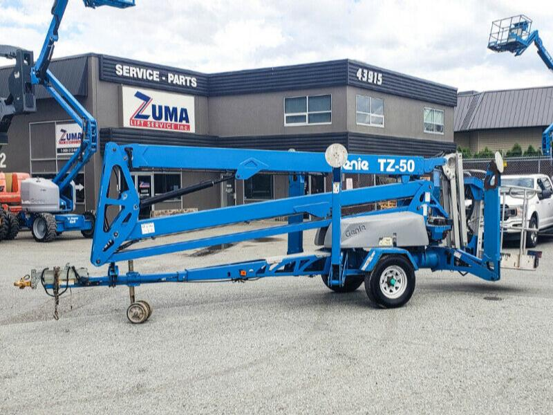 2013 Genie TZ50 Towable Boom Lift For Sale -Finance $765 per mo*