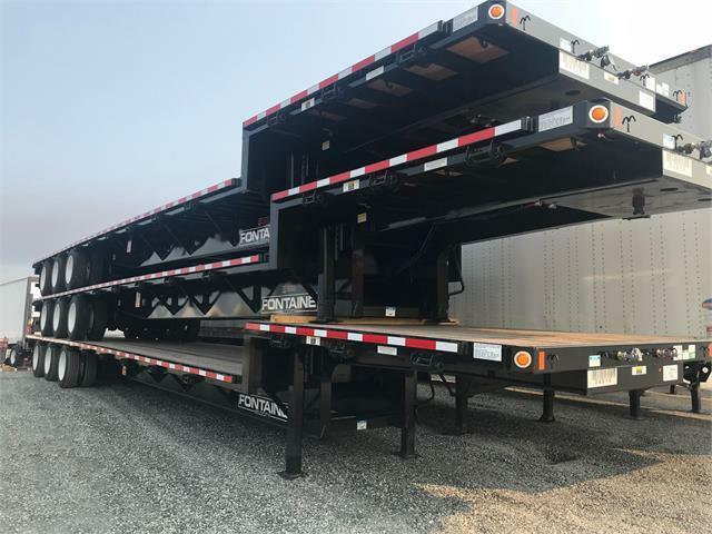 2019 Fontaine Velocity Tri Axle Stepdeck