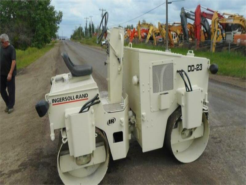 1990 INGERSOLL-RAND DD-23 DOUBLE DRUM ROLLER