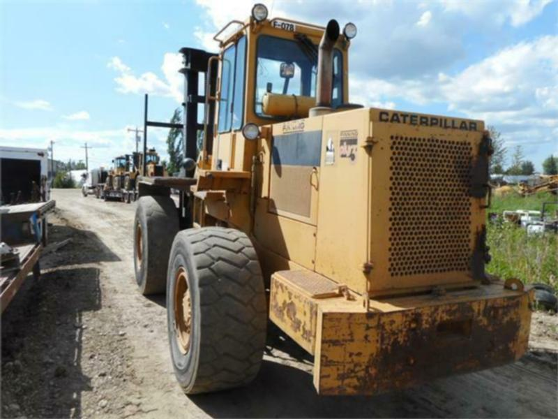 1985 CATERPILLAR 936 4X4 ARTICULATED ROUGH TERRAIN FORKLIFT