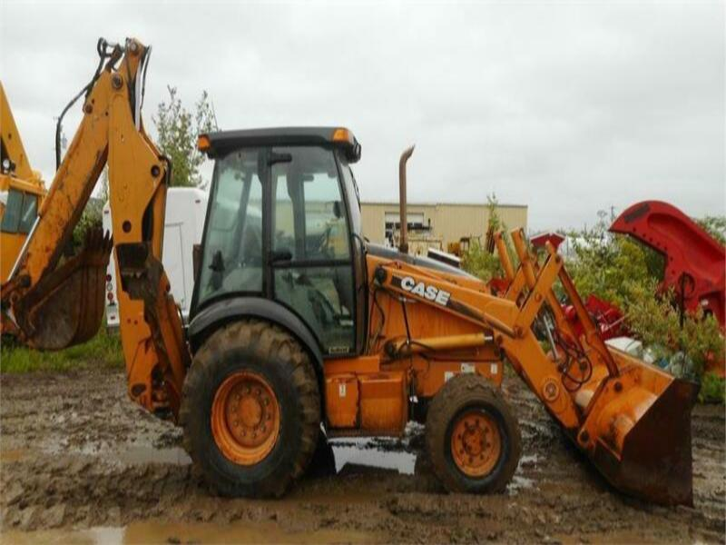 2005 CASE 590SM SERIES 2 4X4 LOADER BACKHOE