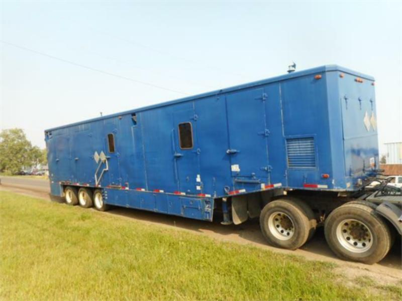 1994 GENERAL 45FT X 8.5FT TRIDEM SHOP VAN TRAILER