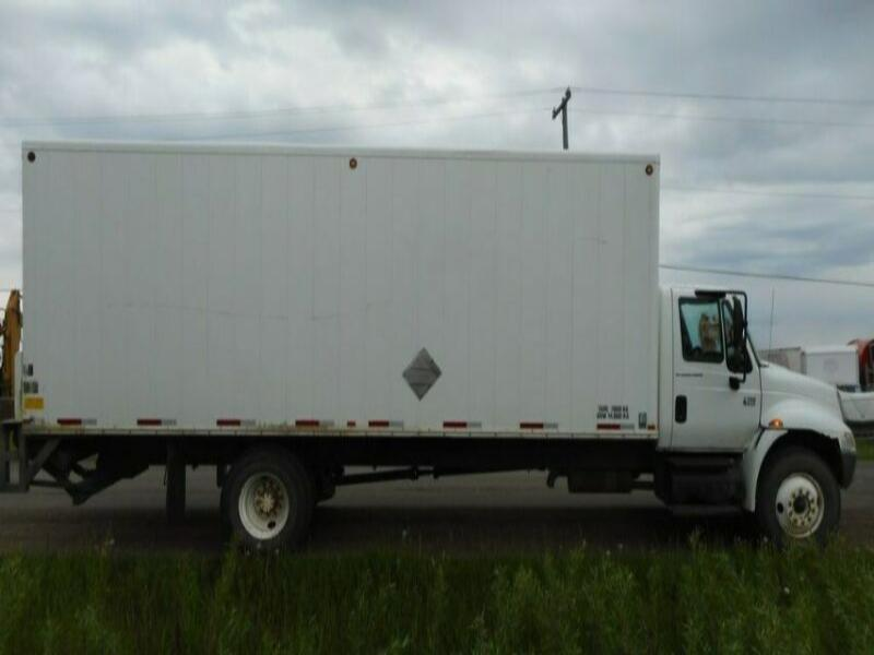 2008 International 4300 Single Axle Van Truck