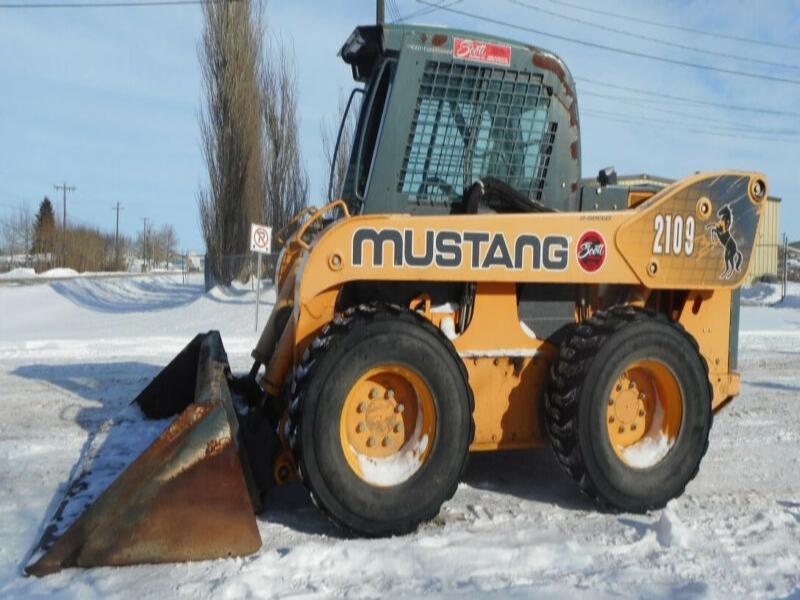 2009 Mustang 2109 2 Speed High Flow Skid Steer
