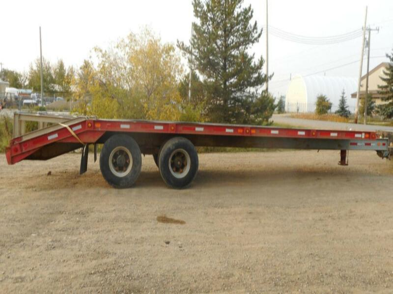 1992 Custom Built Heavy Duty T/A Dually Equipment Trailer