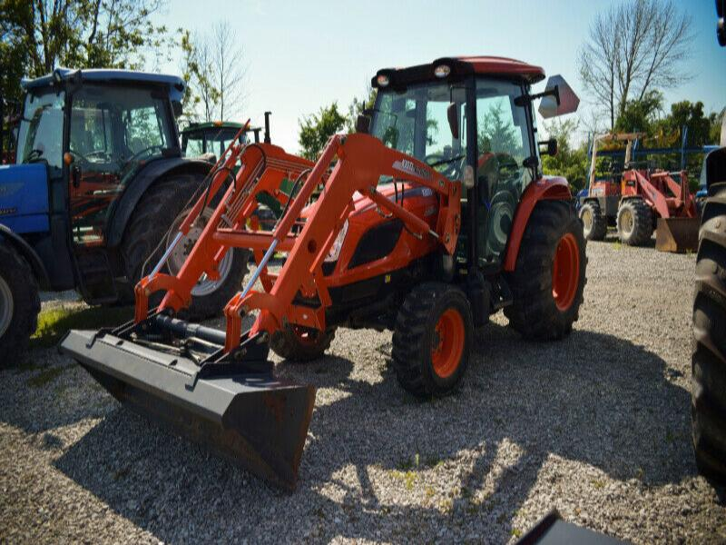 2014 Kioti NX5510hst cab tractor with loader
