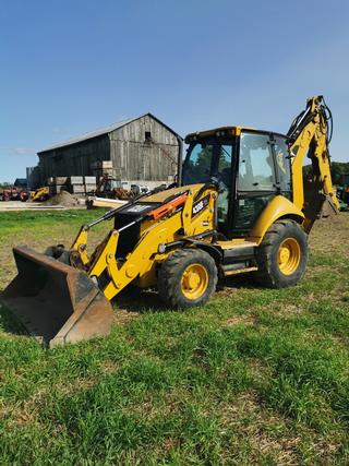 2014 Caterpillar 430F IT Loader Backhoe
