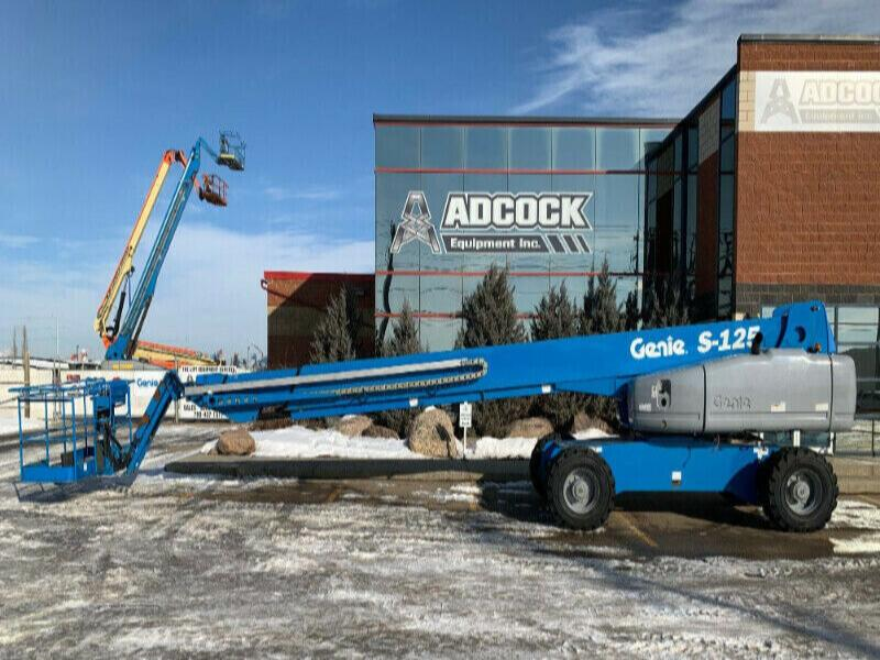 Genie S-125 Straight Boom Lift - Buy for $1146/mon. DELIVERED