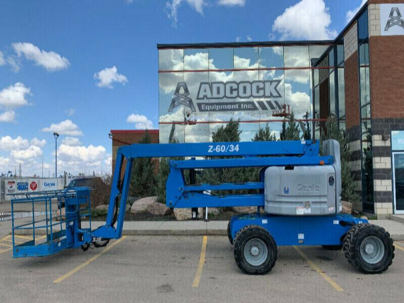 2011 Genie Z-60/34 Articulating Boom Lift  $881/month DELIVERED
