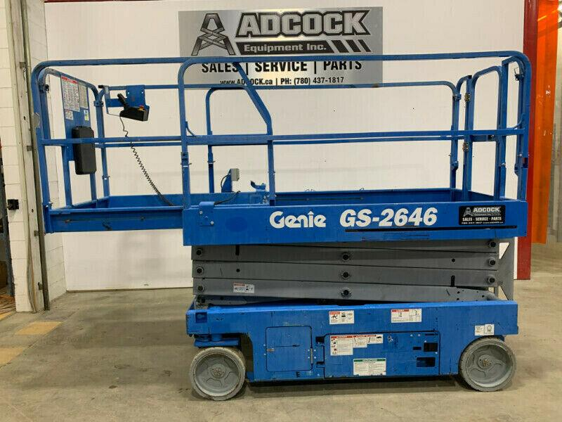 2016 Genie GS-2646 Electric Scissor Lift - 26' -$309/m DELIVERED